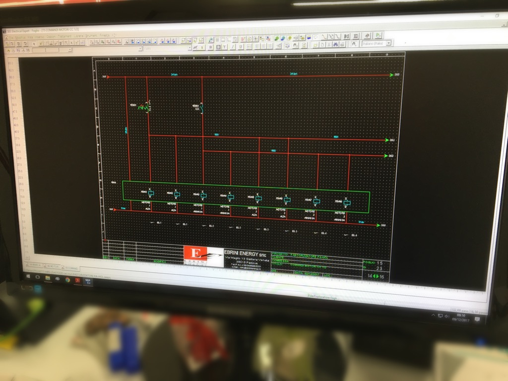 Schemi Elettrici Quadro : Studio e progettazione schemi elettrici u ebrini energy